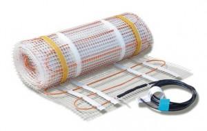 Маты с электрическим нагревательным кабелем