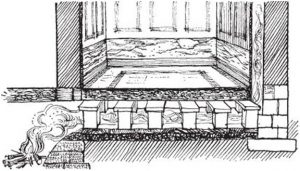 history of heating floor