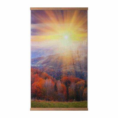 Теплая картина Осенний лес